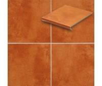 Напольная плитка Stroeher Euramic Cadra 9350 рядовая ступень-флорентинер 340х294х11мм