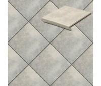 Напольная плитка Stroeher Euramic Cavar 9350 рядовая ступень-флорентинер 340х294х11мм